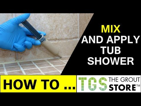 Tile Over Tile Shower Floor   Never Seal Again   Epoxy Bond Grout   YouTube