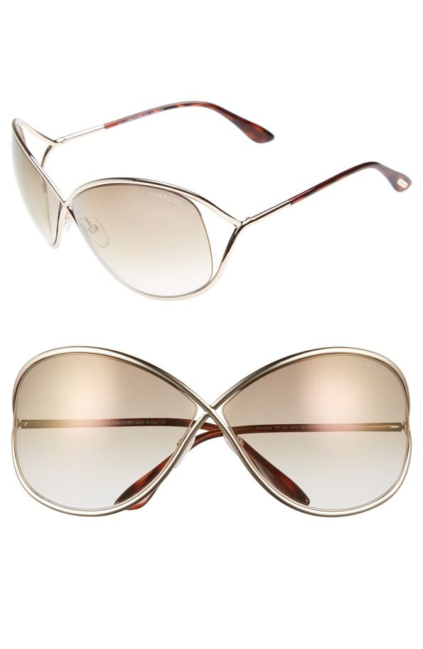 Sunglasses You Ll Wear All Summer Metal Sunglasses Tom Ford Rose Gold Brown