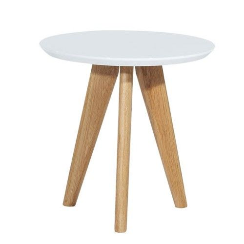 Torsby Side Table - White