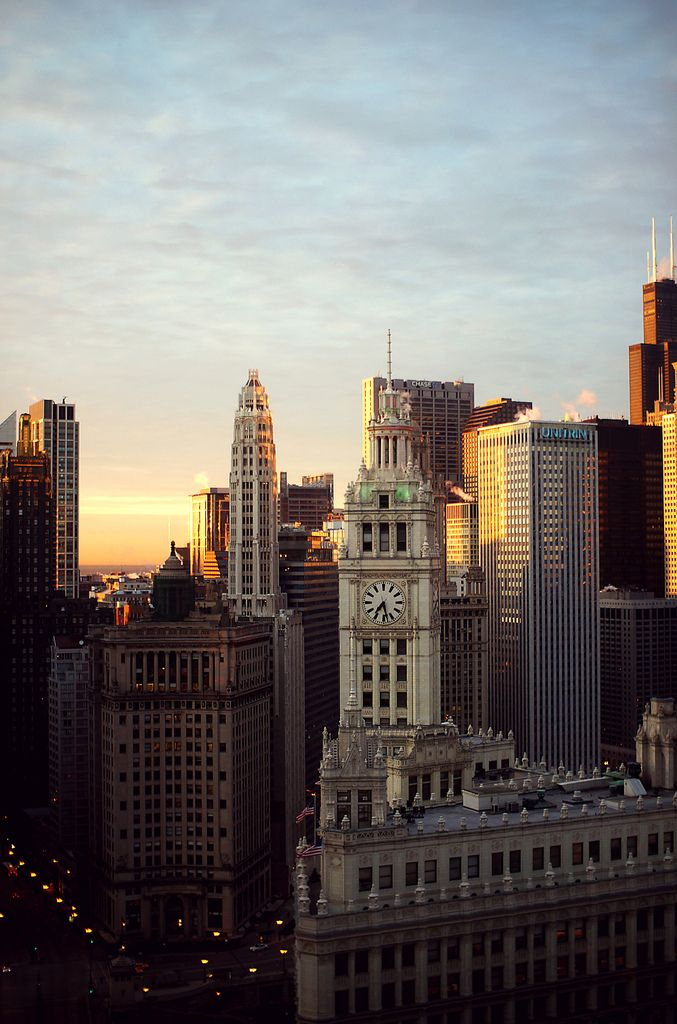 Chicago, 7:28 a.m. by Juergen Buergin