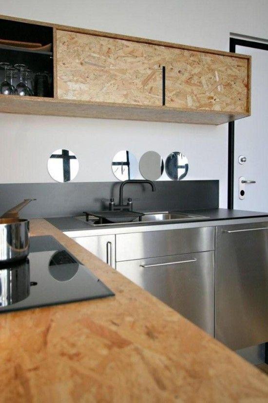 OSB Kitchen Cabinetry #industrialdesign