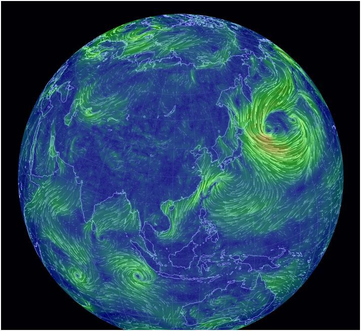 36 best images on pinterest cards interface design and maps a trance inducing simulation of all the winds in the world citylab gumiabroncs Images