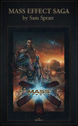 Mass Effect Saga Lithograph by Sam Spratt