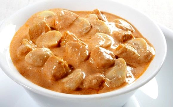 Receita de estrogonofe de frango para o prato principal da fase ataque dukan.