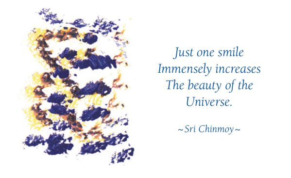 Smile today! #innerpeacequotes by Sri Chinmoy