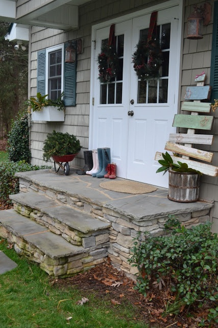 how to build a steps off back door