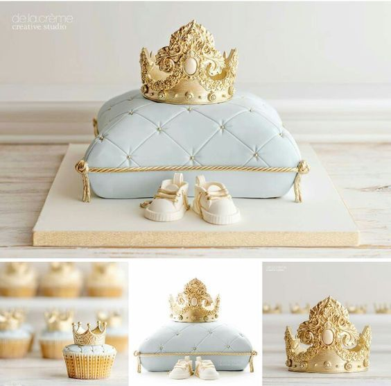 torta decorada tema principe