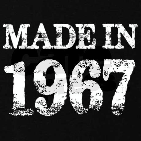 Made In 1967 Birthday Sweatshirt (dark)