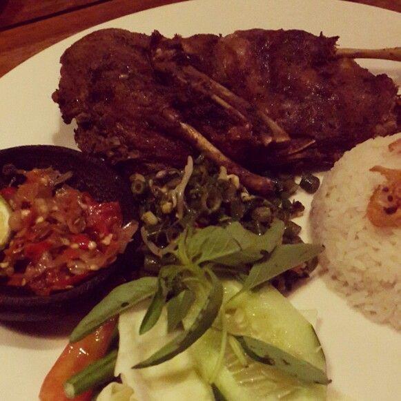 Crispy Duck @WarungEropa #bali #indonesia