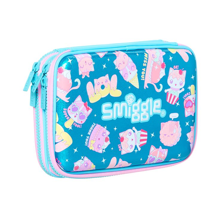 Smiggle Says Double Hardtop Pencil Case | Smiggle