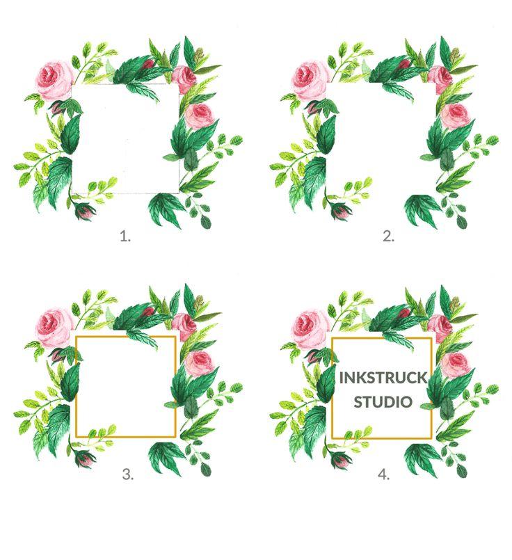 botanical illustration logo