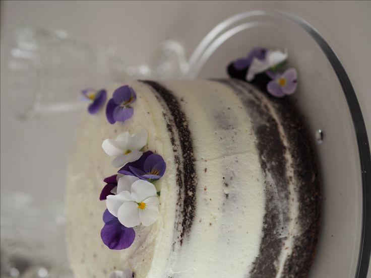 Svatební dort – Naked Cake | Na skok v kuchyni