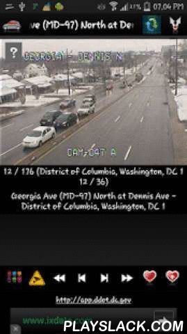 Cameras Washington DC Traffic  Android App - playslack.com ,  ★ Cameras Washington DC Traffic is free application that allow you to watch traffic cameras from Washington DC United States of America.★ All traffic cameras for District of Columbia, Washington, DC★ Application contains more than 170 cameras (live images, webcams, CCTV)!Cameras are mostly traffic but we have other types of cameras as well.You can search for a group, or for camera inside selected group.✔ App have widgets for…