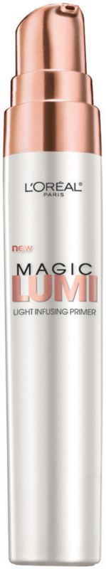 L'Oréal Studio Secrets Magic Lumi Light Infusing Primer - possible dupe for Becca Shimmering Skin Perfector