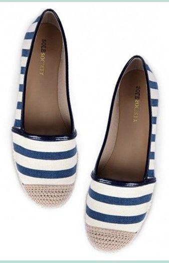 Marinière shoe
