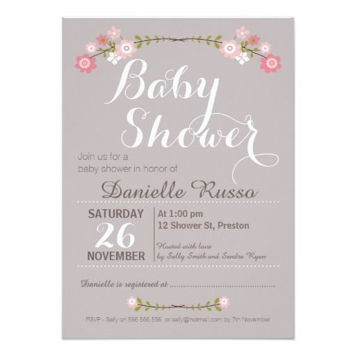 78 Best images about Baby Announcements Invitations – Make Your Own Baby Announcements Free