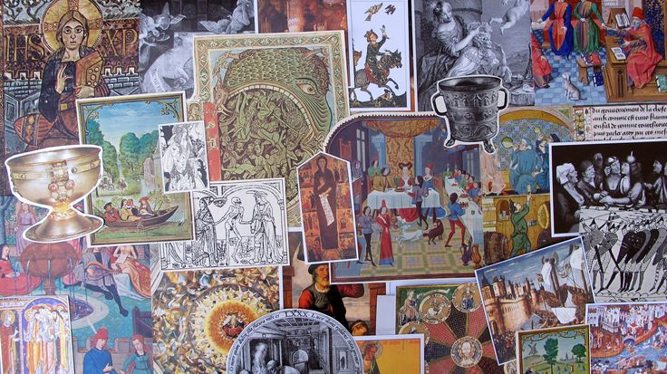 vintage Middle Ages, Medieval, Renaissance mixed media ephemera pack for collage, scrapbooking, mixed media by BurkeSevenVintage on Etsy https://www.etsy.com/ca/listing/554883017/vintage-middle-ages-medieval-renaissance