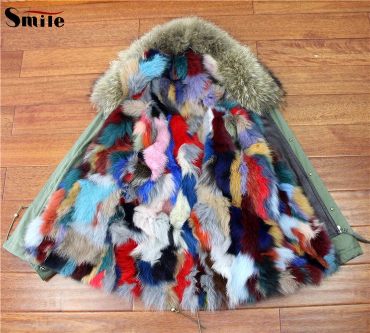 Cheap fur coat lining fabric, Buy Quality fur band directly from China coat fur trim Suppliers:    Womens Famous Brand Genuine Fox Fur Lining Hood Parka Jacket Woman Green Army Raccoon Fur Hooded Lined Warm Parkas Co