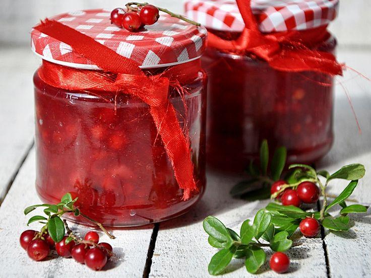 Konfitura z czerwonej borówki - medium