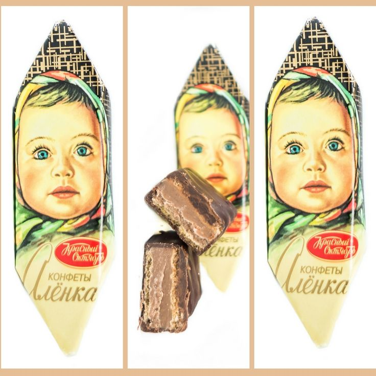 """In 1966 the Russian chocolate factory """"Red October"""" developed an excellent recipe of natural milk chocolate. The chocolate was named Alionka (popular Russian girls name) in honour of millions little girls who love chocolate so much. Nowadays, after half of century, the recipe of this milk chocolate remains unchanged. The image of little Alionka also stays the same. Its unique design become some popular and iconic that sales of Alionka products continue to grow in Russia and other markets…"""