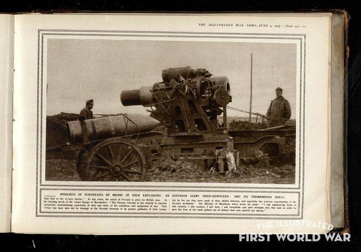 "WWI covered live on Twitter: ""Jun, 09 1915 Illustrated war news - The wrecker of fortresses http://t.co/QqLzCWJHLE http://t.co/t8qxSflG9J"""