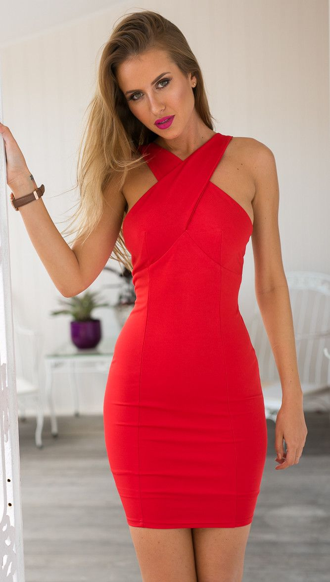 Red hot body con dress | Mura Boutique