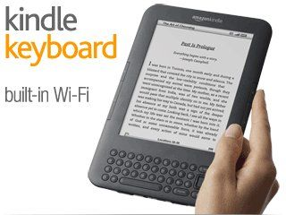 "Kindle Keyboard with Wi-Fi, 6"" E Ink Display"