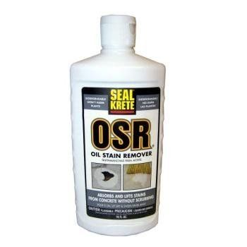Seal krete osr oil stain remover 16 oz by seal krete for Garage oil stain remover