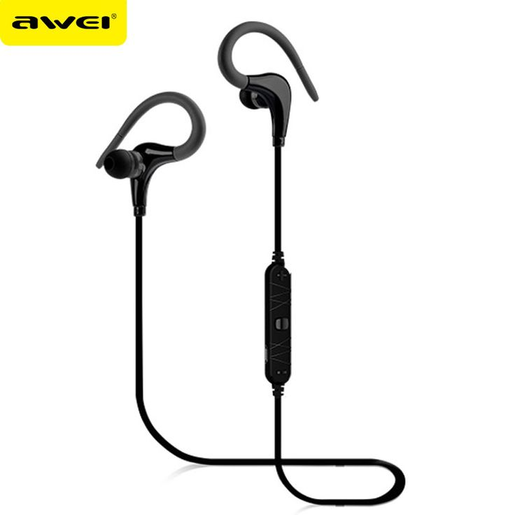 Awei A890BL Casque Bluetooth Wireless Earphone Stereo Bluetooth Headphones Sport Running Headset fone de ouvido Kulaklik