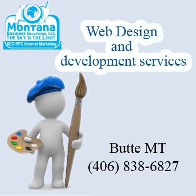 Montana Business Solutions offers the Number 1 Website Development Website Design and Website Marketing Services in Butte Montana.  http://www.montanabusinesssolutions.com/website-design-butte-mt.html