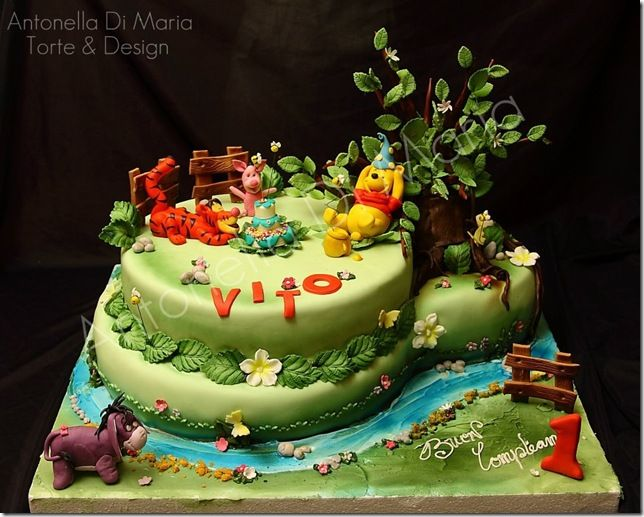 17 Best Images About Tigger Cake On Pinterest Winnie The