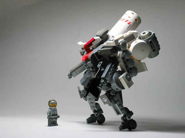 EV Heavy Industries - Armoured Regalia <High Burst Dress #LEGO