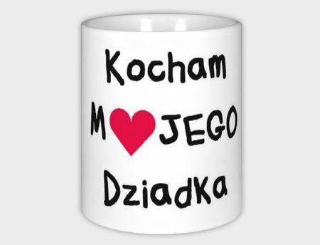 Kubek z nadrukiem, prezent dla Dziadka dziadek w Schmuck Dawanda  na DaWanda.com