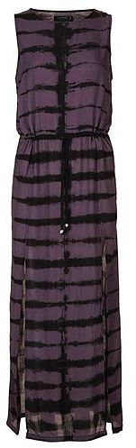 Womens aubergine postive dress by religion from Topshop - £60 at ClothingByColour.com
