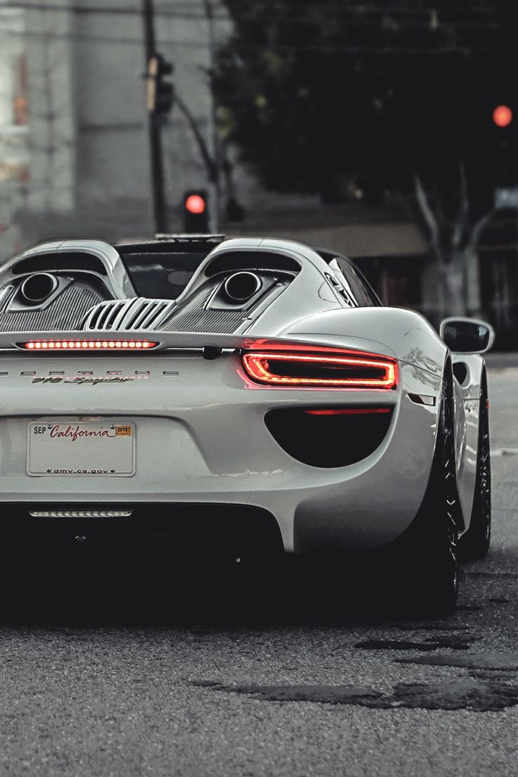 Porsche 918 Spyder - Usually not a huge fan of the Porsche look, but the 918 is other-worldly #supercar  This dream car could be yours if you just follow these steps
