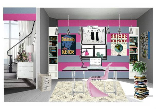Home Office by mirellaparer | Olioboard