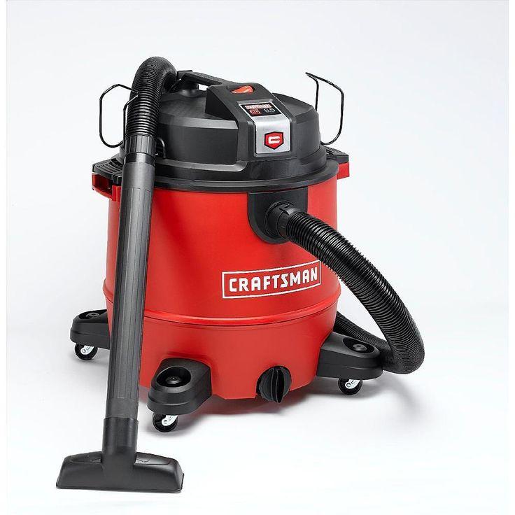 Craftsman Wet Dry Vac XSP 20 Gallon 6.5 Peak HP Vacuum Jobsite Shop Garage Home #Craftsman