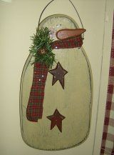Seasonal Crafts, Christmas Country Wood Signs, Primitive Wood Snowmen, Bunnies