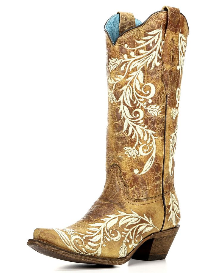 Corral | Women's Embroidered Snip Toe Boot | Country Outfitter http://www.countryoutfitter.com/womens-embroidered-snip-toe-boot/2510581.html?dwvar_2510581_color=Sand