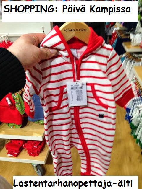 ostokset, vauva, lasten vaatteet, polarn o pyret