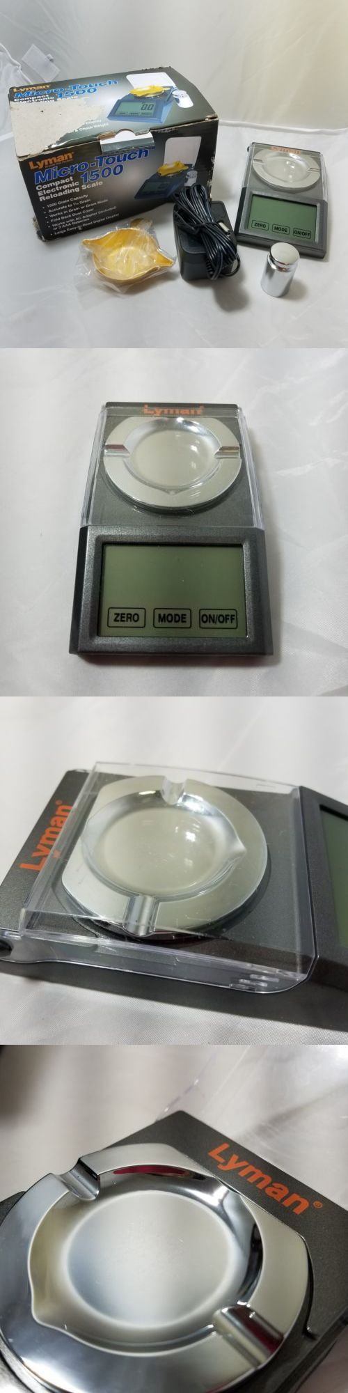 Powder Measures Scales 71119: Lyman Micro-Touch 1500 Electronic Reloading Scale -> BUY IT NOW ONLY: $45.9 on eBay!