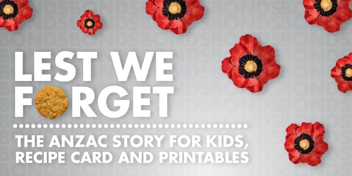 Lest We Forget - The Anzac Day Story for Kids