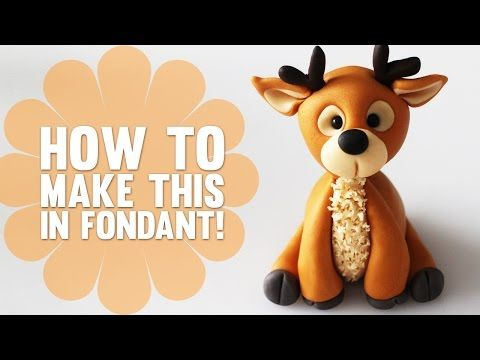 Super Speed Video - How to make a Reindeer Cake Topper - YouTube