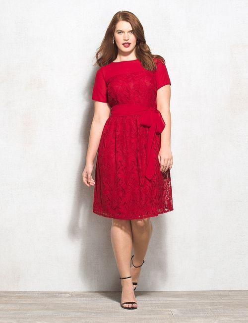 10 best fit n flare plus size dresses images on pinterest | 1950s