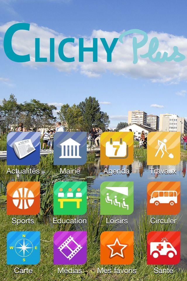 J'ai testé pour vous : l'#application #iPhone de ma ville de #Clichy