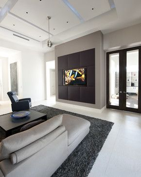 20 Best Media Wall Images On Pinterest Wall Design Fireplace - custom media wall designs