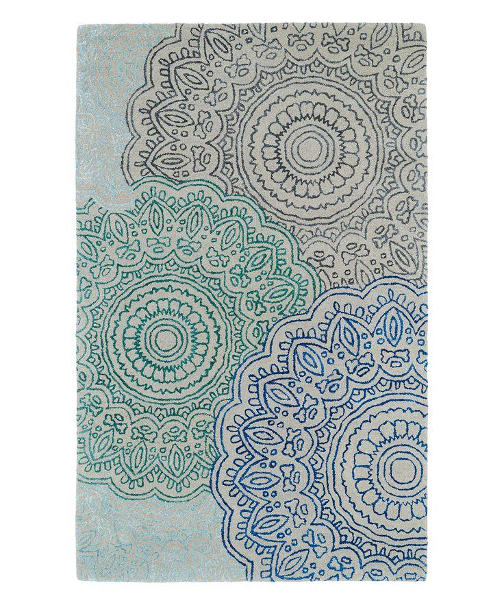 Floret Divine Wool-Blend Rug