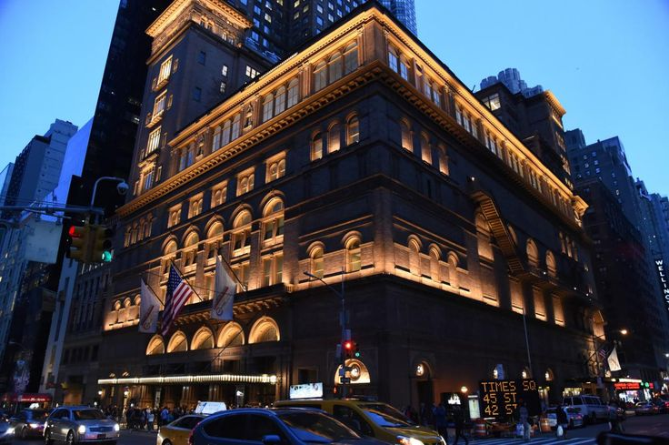 Carnegie Hall, New York City : 19 Places Every Music Fan Should Visit Before They Die : TravelChannel.com
