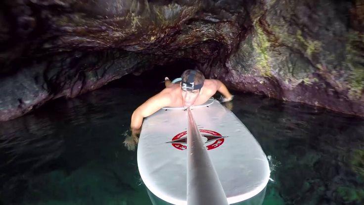 Paddling in Veneto caves!!