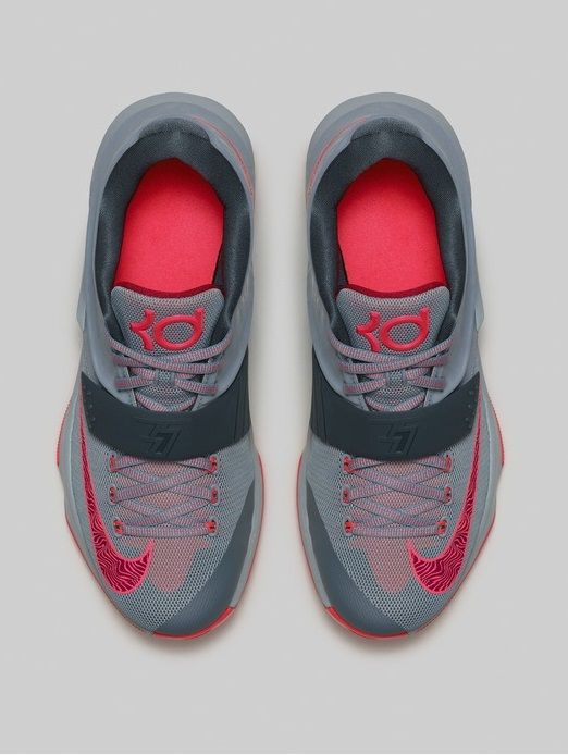 outlet store ad6a9 9ee26 ... wholesale kd 7 elite black college navy grey ac2d1 15836